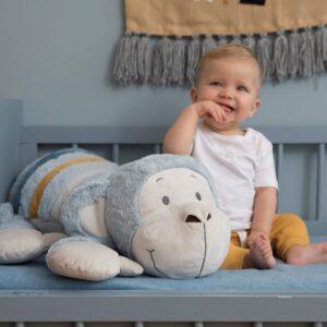 Comfy Monkey Plush Toy Children' Birthday Christmas Or New Baby Gift (SKU1264)
