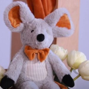 Mouse Misty Plush Toy Or Tuttle / Comforter New Baby Gift (SKU1262)