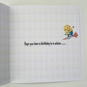 Minion Theme 14th Birthday Card Nephew Any Relation Or Age (SKU719)