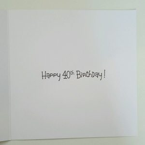 Personalised Birthday Card 40th Gin Tonic Daughter In Law Sister Mum Auntie