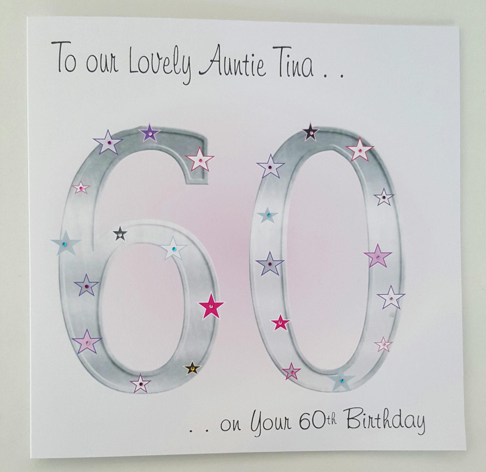 Personalised Birthday Card Auntie Friend Sister