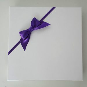 Personalised On Our Wedding Day Card Purple Bride Husband To Be Any Relation Any Occasion Any Colour