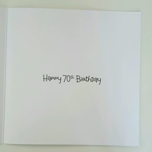 Personalised Birthday Card Dad 70th Vodka Brother Friend Sister Mum Auntie Uncle