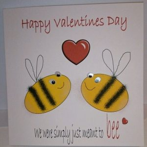 Personalised 8 x 8 Valentine's Day Card The One I Love Girlfriend Boyfriend Fiance Any Relation Any Colour