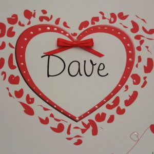 Personalised 8 x 8 Wedding Day Card On Our Wedding Day Husband Wife Any Colour