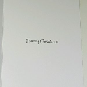 Personalised Christmas Card Daddy Red Wine Theme Any Relation Any Tipple