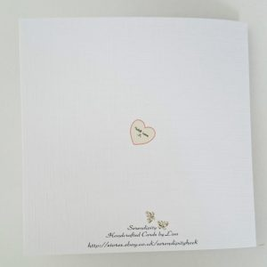 Personalised On Our 35TH CORAL Wedding Anniversary Card Husband Wife Any Colour