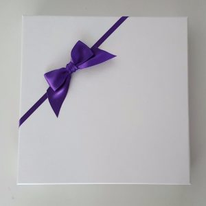 Personalised Wedding Day Card Teal & Purple Sister & Brother In Law Any Colour Or Occasion (SKU218)