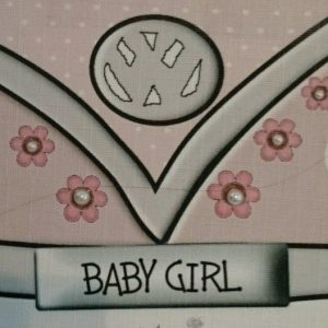 Handmade Personalised New Baby Card 8 x 6 VW Campervan Theme