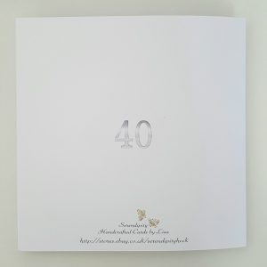Large Personalised 40th Birthday Card Husband Son Nephew Brother 20 30 50 60 70