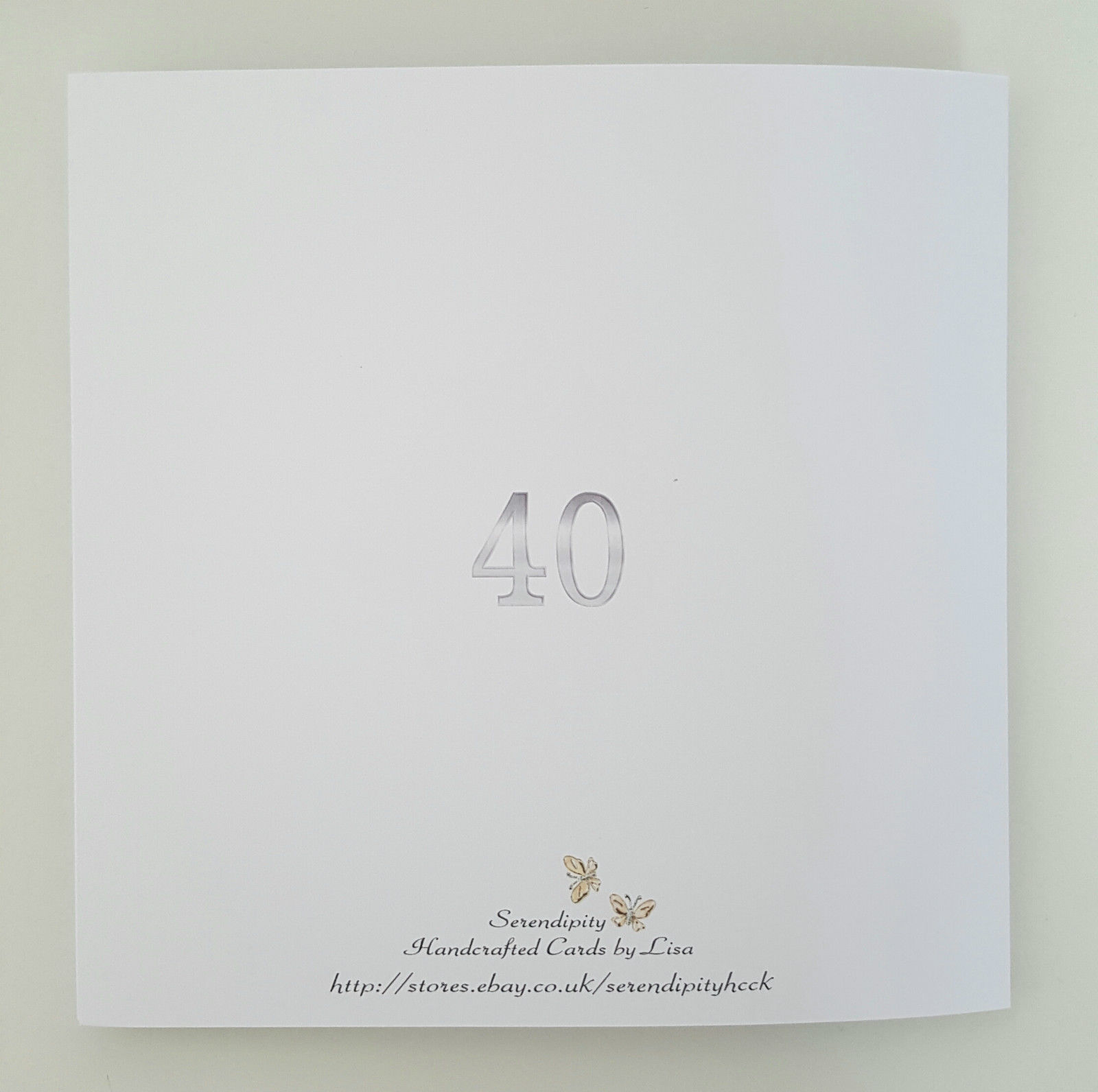 Large Personalised 40th Birthday Card Husband Son