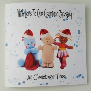 Personalised 1st Christmas Card In The Night Garden Grandson Niece Granddaughter