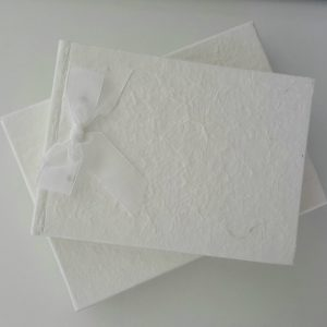 MULBERRY GUEST BOOK GIFT BOXED ANY OCCASION OR RIBBON COLOUR **CAN PERSONALISE**