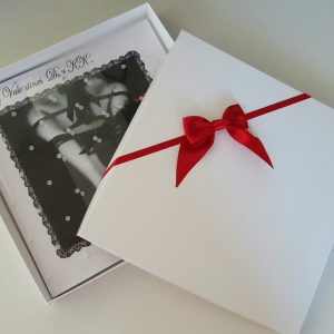 Personalised 8 x 8 Valentines / Birthday Card Any Person Any Occasion Any Colour