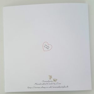 Large Personalised Valentines Day Card With or Without Gift Box Boyfriend Lover