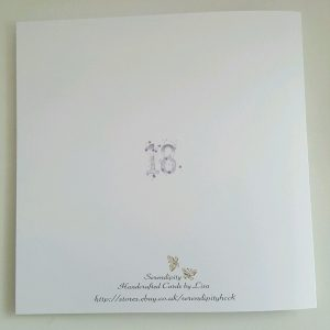 Personalised 18th Birthday Card Goddaughter Niece Sister Daughter Any Colour Age