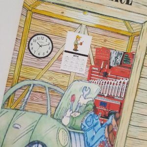 Personalised Retirement Card Mechanic Garage Shed Any Relation Other Themes Available (SKU346)