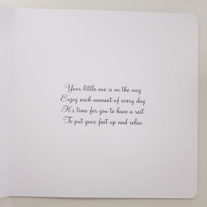 Personalised Mum To Be Maternity Leave Card New Baby Twins Triplets Any Colour (SKU155)