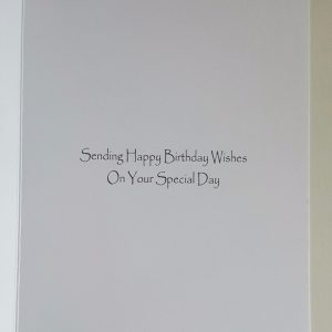 Personalised 40th Birthday Card Daughter in law Pink Champagne Any Relation Any Age Any Tipple