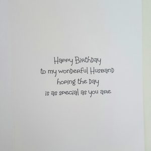 Personalised VW Camper Birthday Card Husband Any Person, occasion Or Colour (SKU0135)