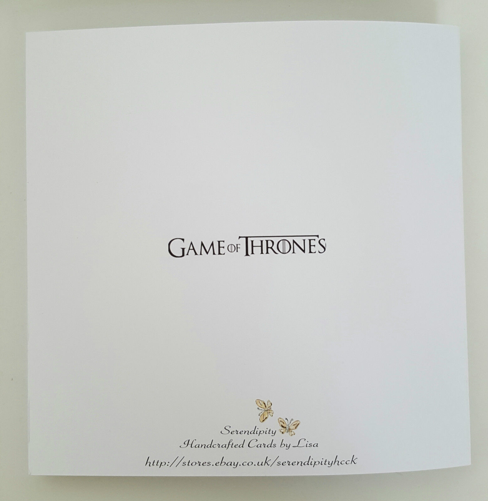 LARGE Game Of Thrones 16th Birthday Card