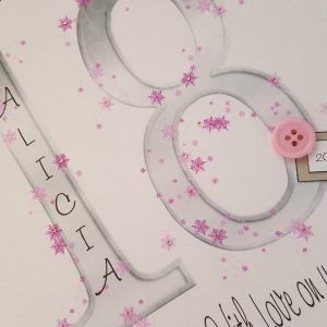 Personalised 18th Birthday Card Goddaughter Any Colour Age Relation