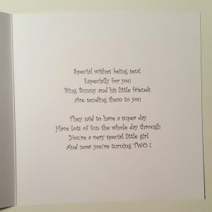 Personalised 2nd Birthday Card Ben And Hollys Little Kingdom Granddaughter Son Cards Stationery