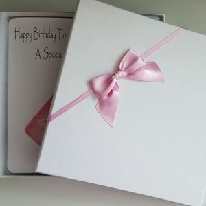 Personalised 16th Birthday Card Daughter Pink Champagne Any Relation Any Age Any Tipple