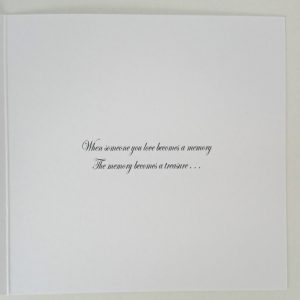 Personalised Bereavement Sympathy Card Condolence On the loss of your Husband Any Relative