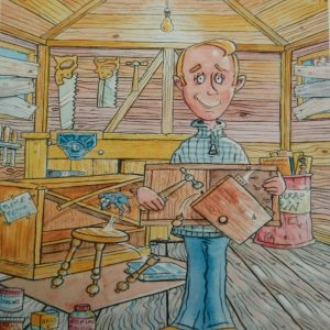 Personalised Birthday Card Husband Garden Shed DIY Uncle Son Grandad Dad Nephew