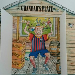 Personalised Fathers Day Card Grandad Any Relation Any Football Team Any Occasion