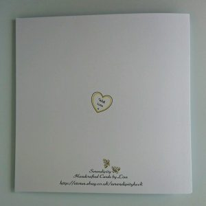 Personalised Wedding Day Card Cadbury Purple & Yellow Sister & Brother In Law
