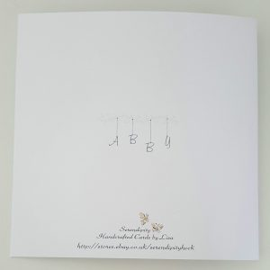 Large Personalised Birthday Card Daughter 20th ANY PERSON ANY AGE Wife Mum Gran