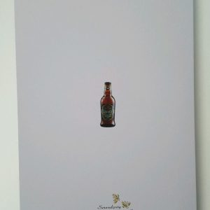 Personalised 40th Birthday Card Son in law Bottle Crabbies Ginger BOXED OPTION