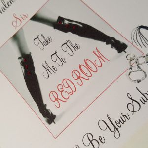 Personalised Valentines Day Card Naughty Fifty Shades Bondage Husband  Boyfriend