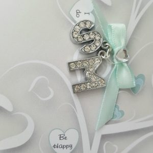Personalised Sage Wedding Card Sister Brother In Law Any Couple, Occasion Or Colour (SKU286)