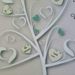 Personalised 8 x 8 Wedding Day Card Sage Ivory Twin Sister & Brother In Law Any Relation Any Event Any Colour