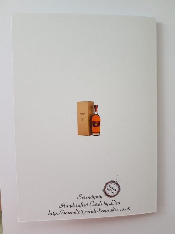 Personalised Birthday Card Whiskey Brother 50th Dad